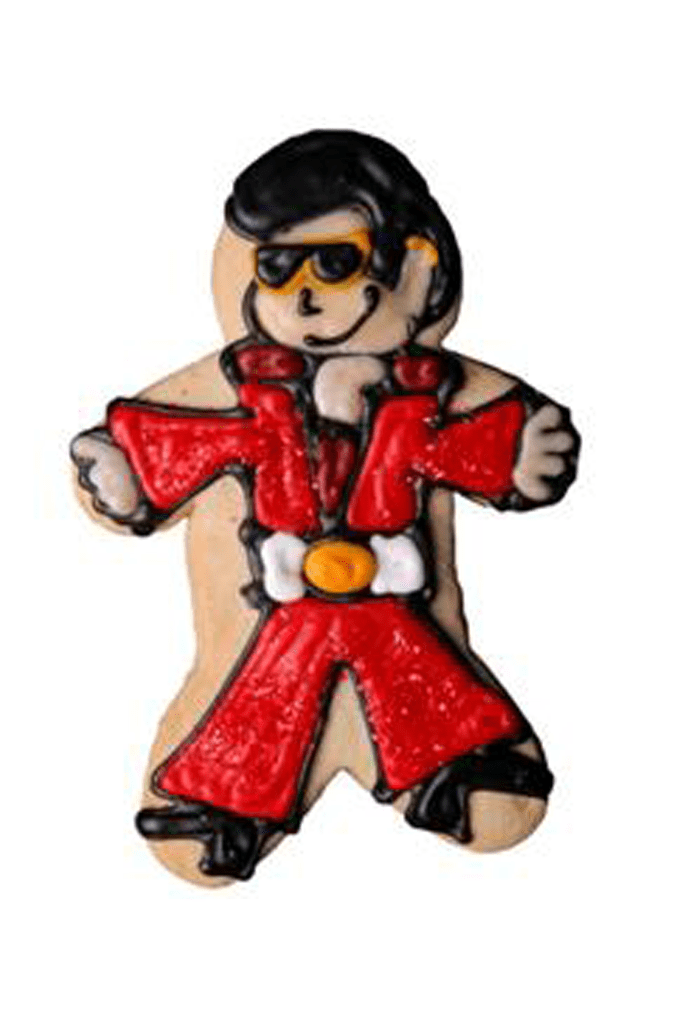 Elvis cookie to introduce my blog, the decorated cookie. Everything you need to know about cookie decorating can be found in these years of blog posts.