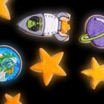 outer space cookies! #cookiedecorating