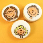 family portrait cookies
