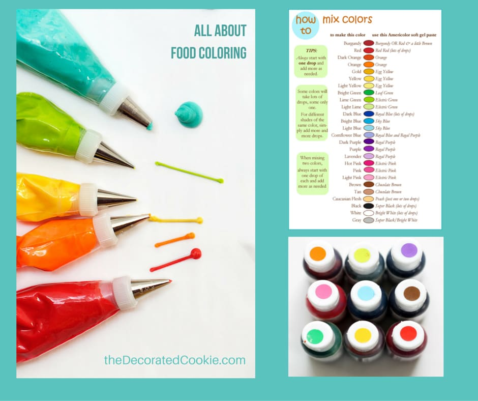 food coloring 101: colors to buy, how to mix frosting and ...