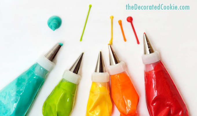 all about food coloring - The Decorated Cookie