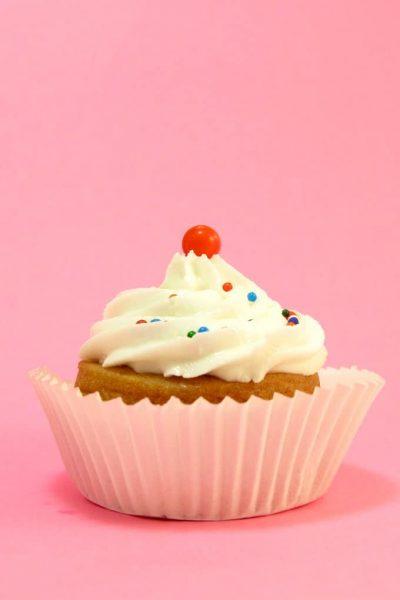 Cute little cookies decorated to look like cupcakes. #Cupcakes #Cookies #Birthday