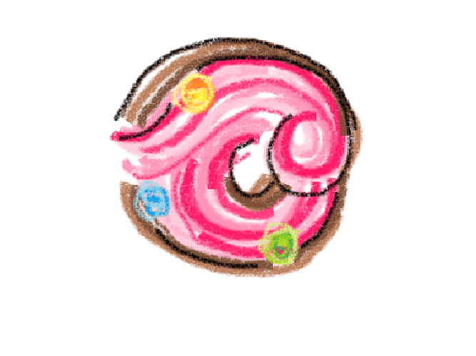 Doughnut art: Donuts painted by famous artists. (Or so imagined.)