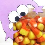 monster party favor bags free printable