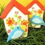 painted birdhouse cookies…lest ye be forgotten