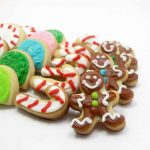 mini christmas candy cookies