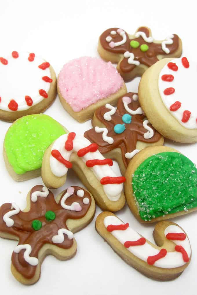 Cute Mini Christmas Candy Cookies The Decorated Cookie