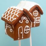 gingerbead house pops