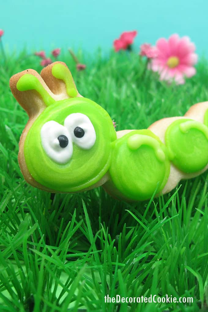caterpillar cookie