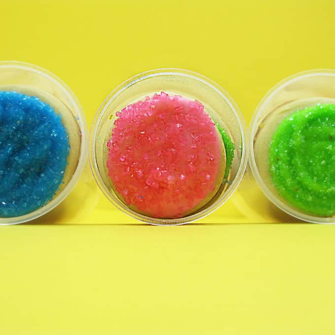 rainbow cookie push pops by The Decorated Cookie