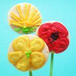 wildflower cookies