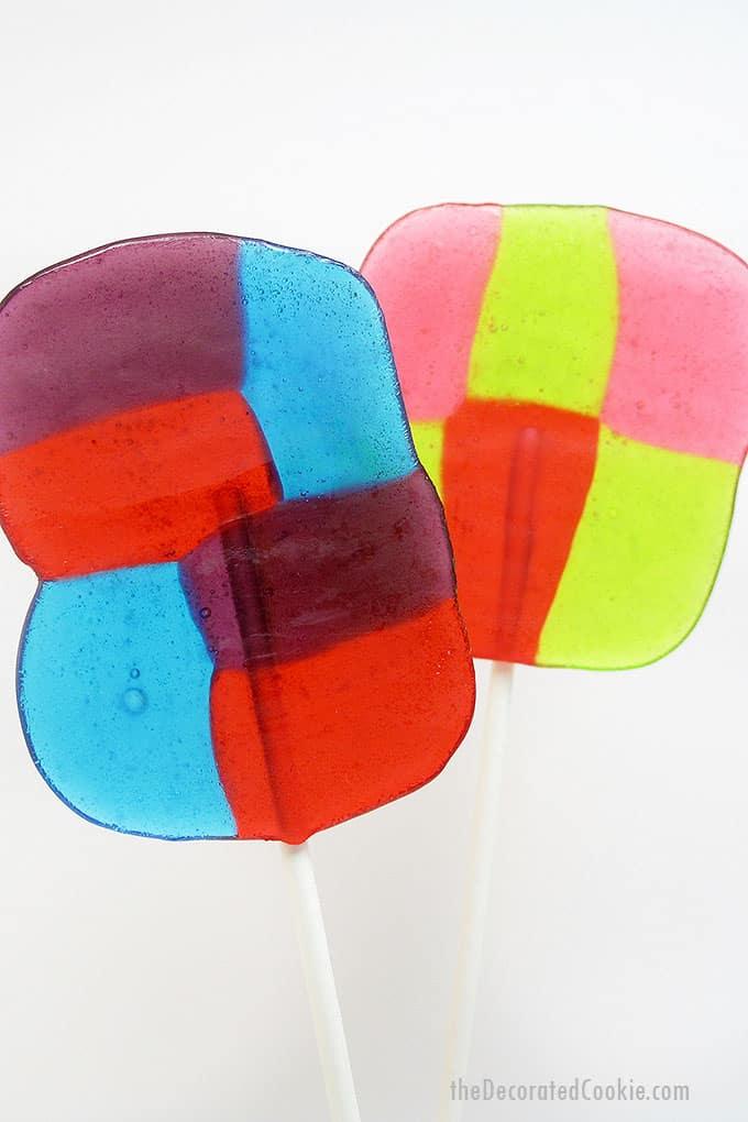 homemade jolly rancher lollipops