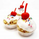 Rice Krispie treat cupcakes