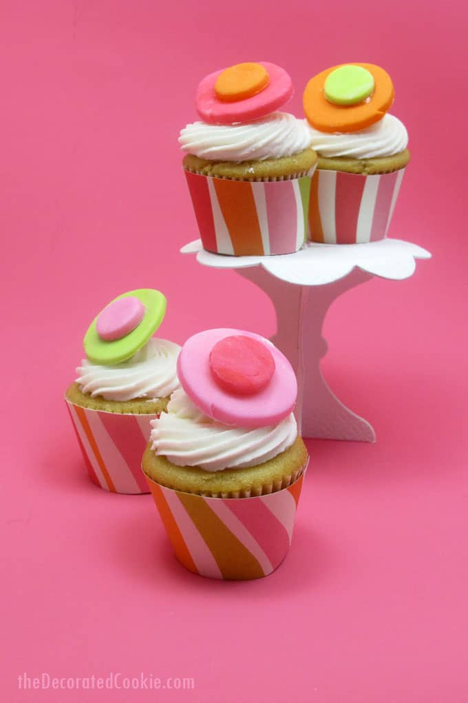 image relating to Printable Cupcake Wrappers named Totally free printable for mini cupcake wrapper template -- the