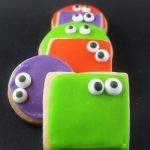 googly-eyed monster cookies