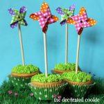 pinwheels cupcakes