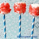 Pop Rocks marshmallow pops