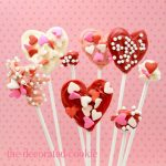 kid-friendly candy heart pops for Valentine's Day