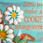 how to make a cookie bouquet