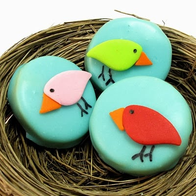 bird cookies - the decorated cookie