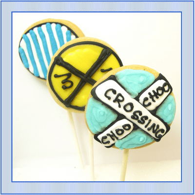 train cookies - the decorated cookie