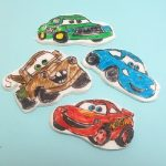 Cars fondant cupcake toppers - the decorated cookie