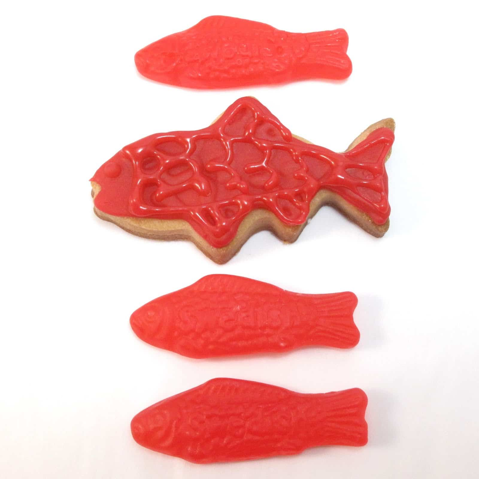 Candy cookies the decorated cookie for Who makes swedish fish