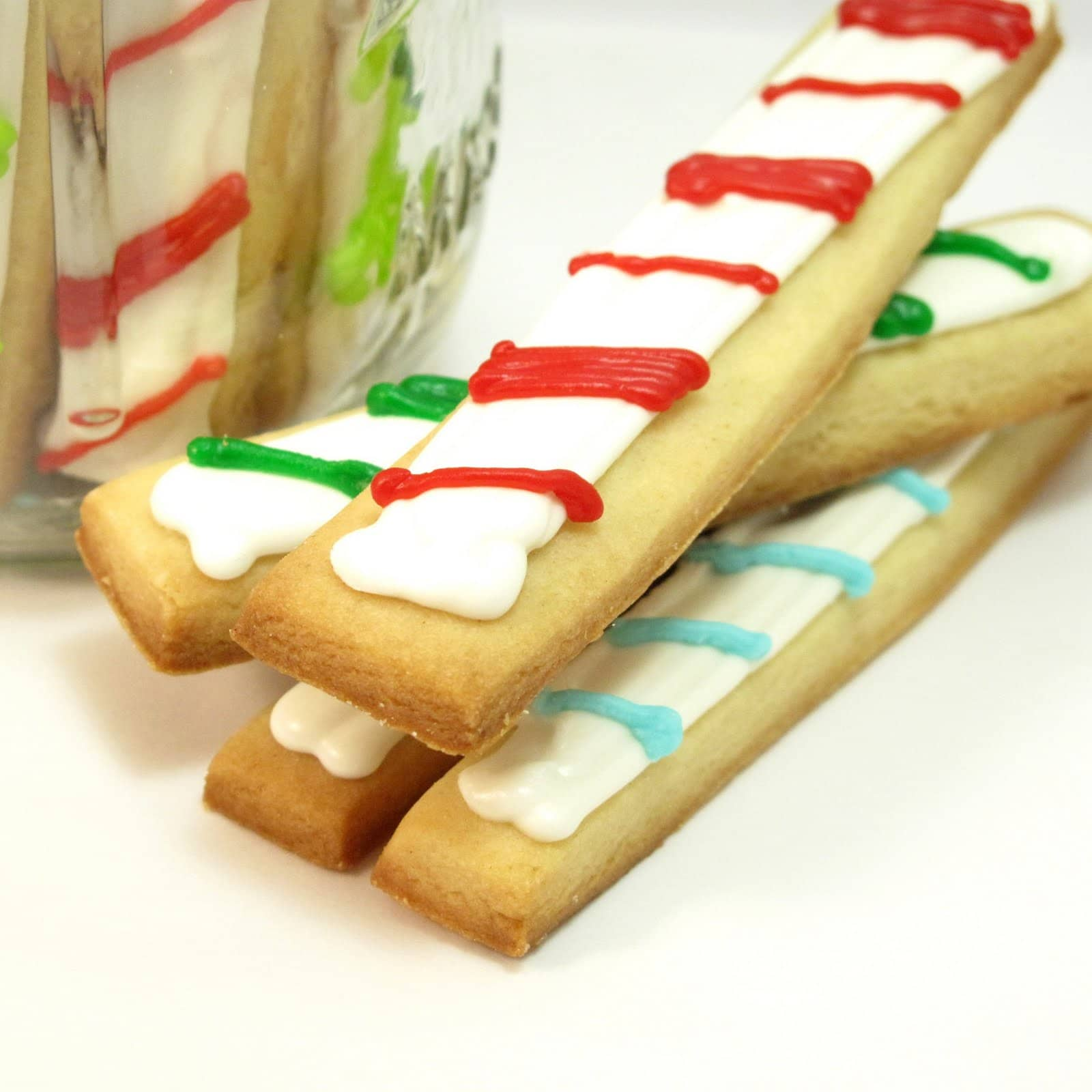 christmas cookie sticks - The Decorated Cookie