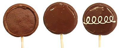 Hostess cookies , Twinkies, HoHos, SnowBalls and CupCakes cookie pops