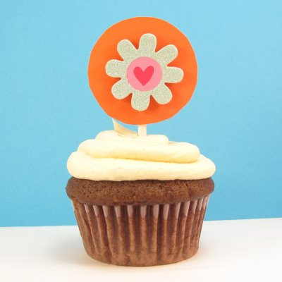 cupcake toppers - the decorated cookie