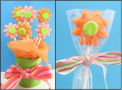 daisy candy pops