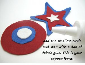 election day cupcake toppers