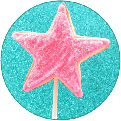fairy wand cookies for a princess birthday party