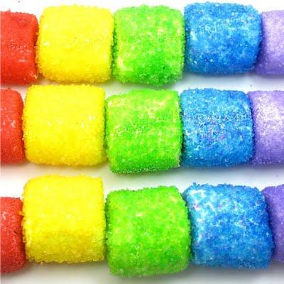 rainbow marshmallow kabobs