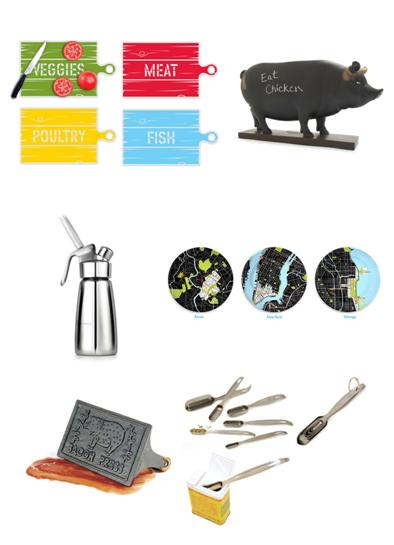 Gift ideas for foodies and bakers and kitchen lovers Gifts for kitchen lovers