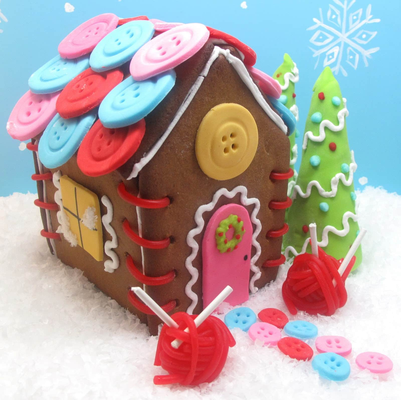 Sewing Cottage Gingerbread House