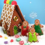 gingerbread house family