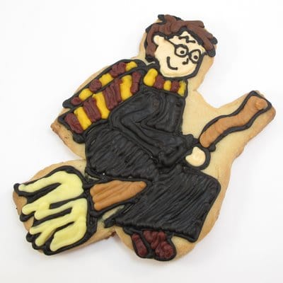 Harry Potter cookies - the decorated cookie