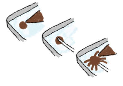 chocolate spider pops for Halloween