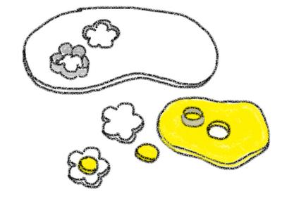 Oreo Cakester daisy petit fours