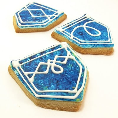 jeans cookies - the decorated cookie
