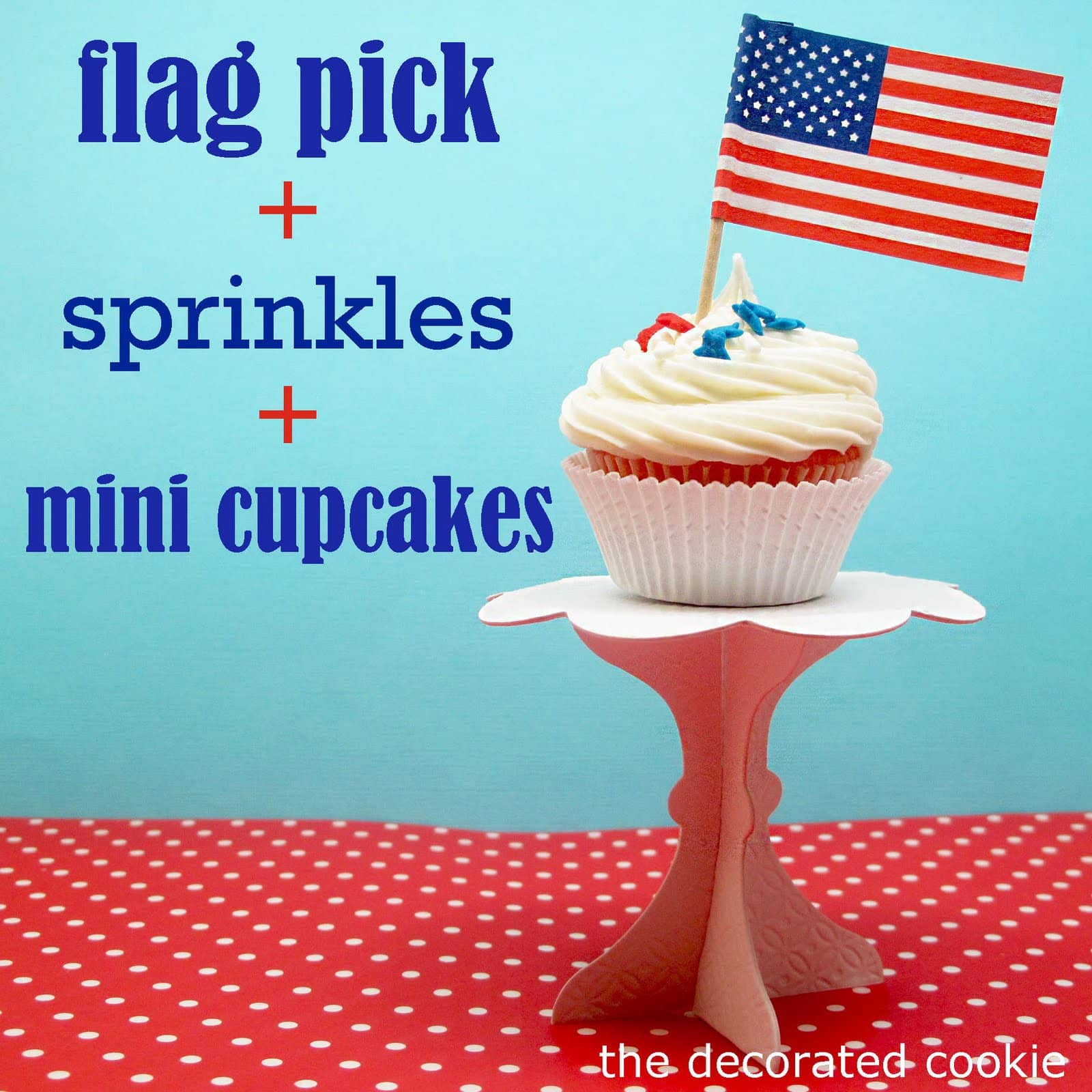 Easy, Festive Cupcakes For