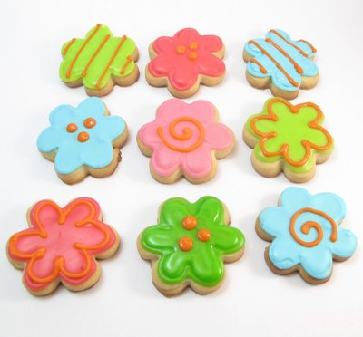 flower cookie bites