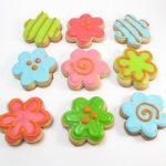 flower cookie bites