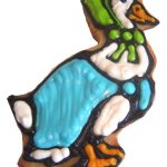 Mother Goose cookie - the decorated cookie