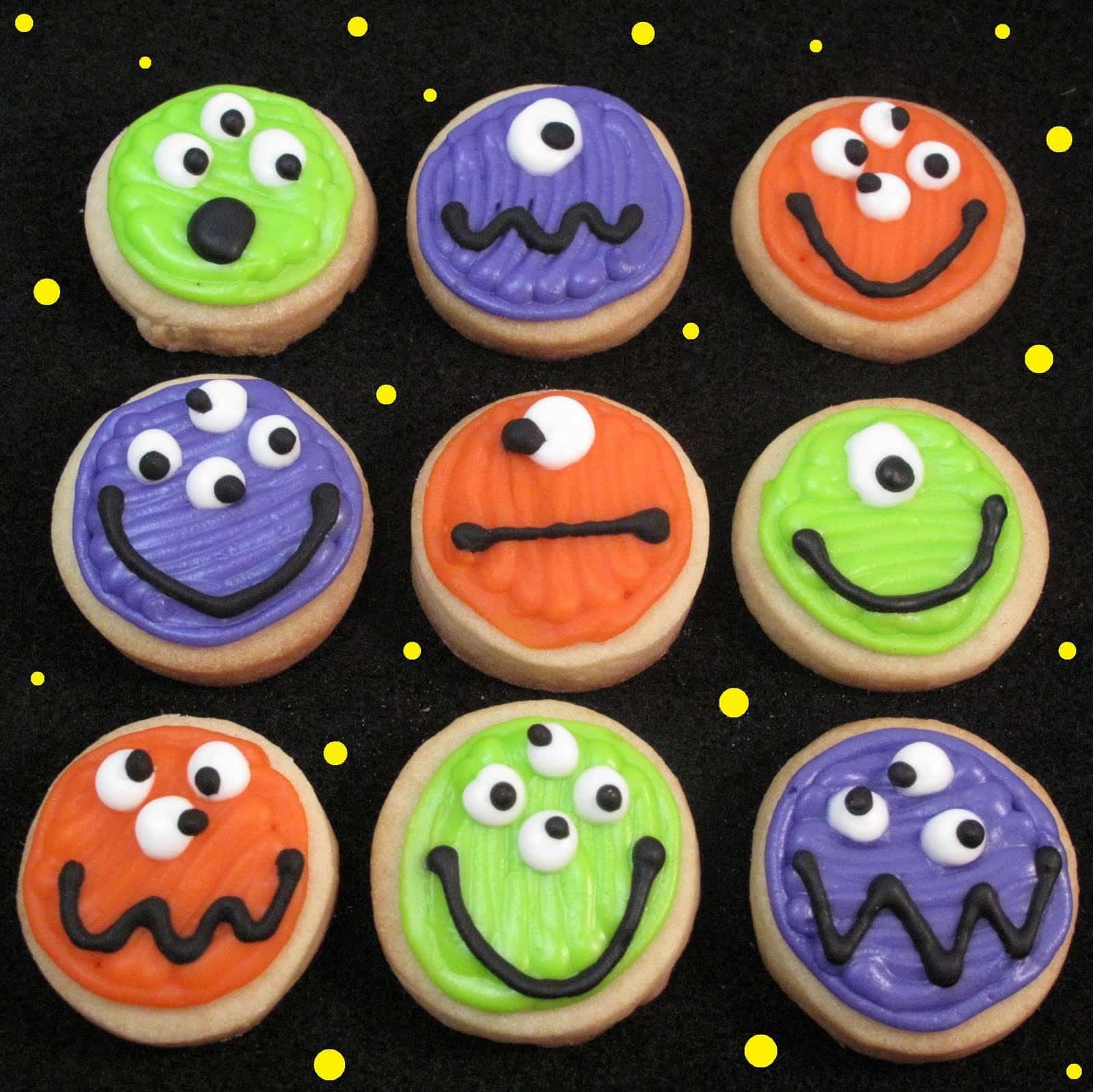halloween cookie bags