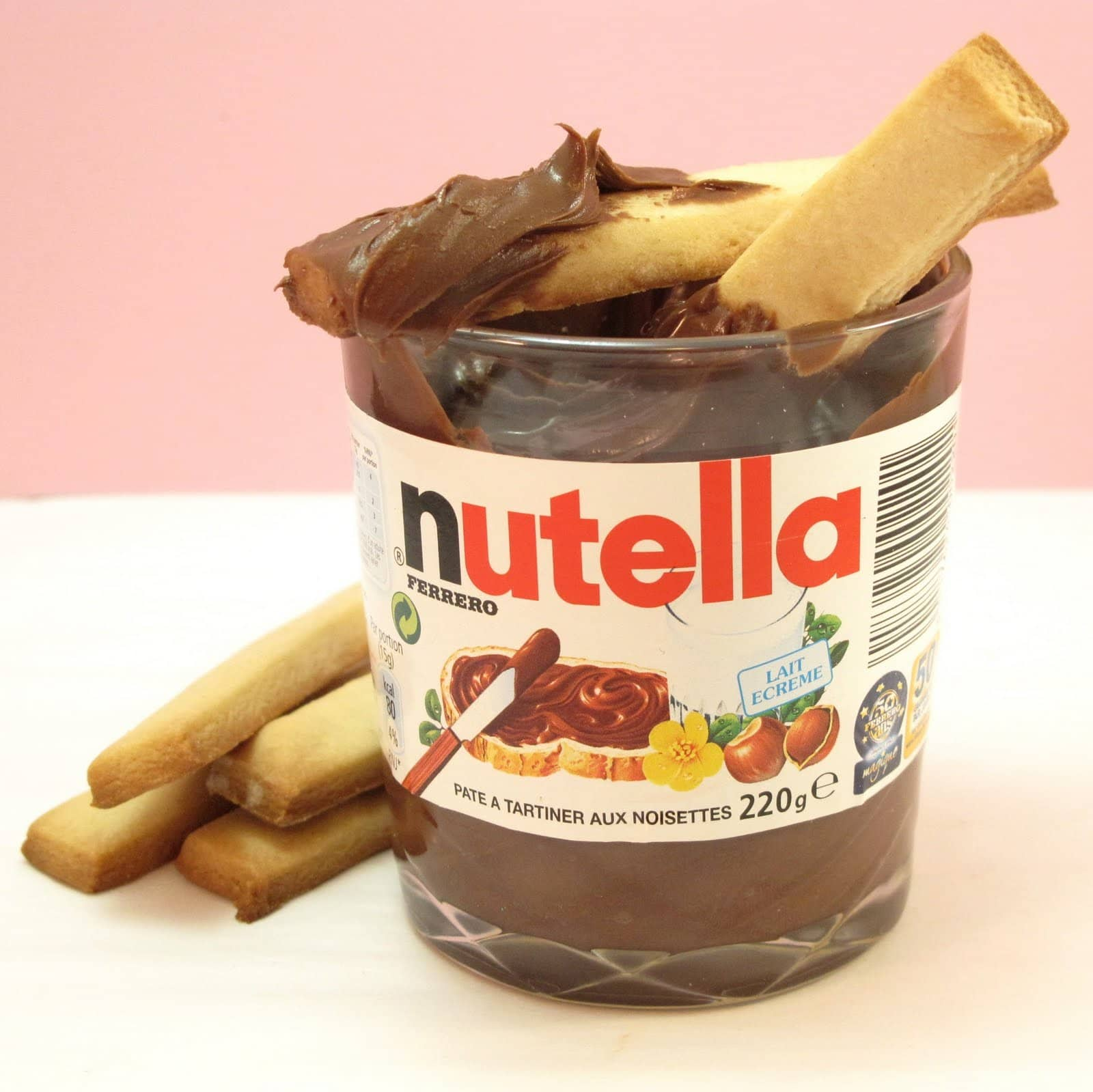 Cookie Sticks N Nutella The Decorated Cookie