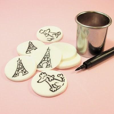 Paris cupcakes