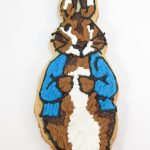 Peter Rabbit cookie