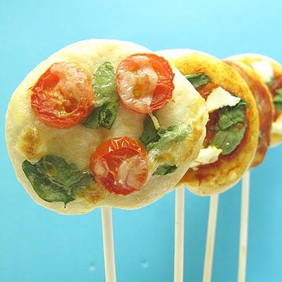 pizza pops-- pizza on a stick